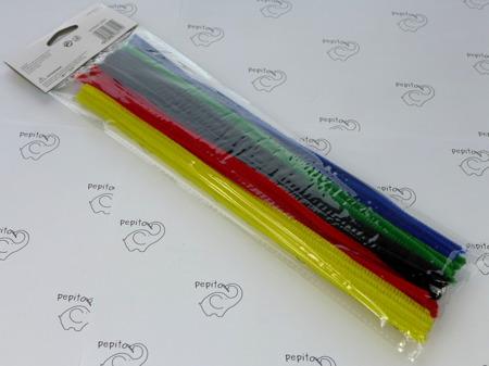 Druciki kreatywne 0,4x30cm różne kolory 40 sztuk