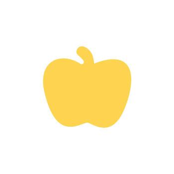 Dziurkacz ozdobny 2,5cm jabłko