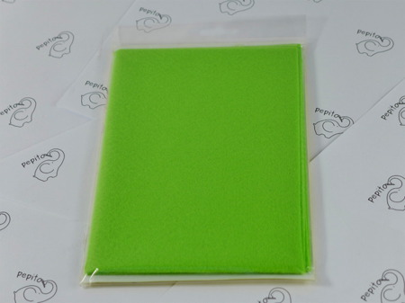 Filc zielony 40x30cm